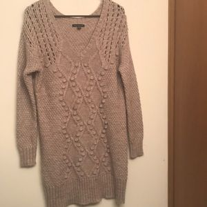 American Eagle sweater dress.